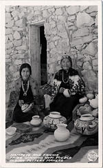 Nampeyo and Fannie, Hopi Potters